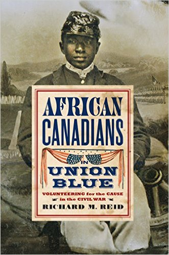 AFRICAN CANADIANS IN UNION BLUE - BOOK